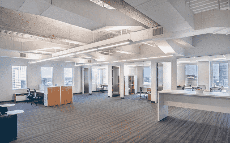renovate an office